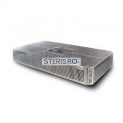 Cos sterilizare inox 1/1 (485x255x105) mm cu capac