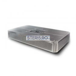 Cos sterilizare inox 1/1 (485 x 255 x 35) mm cu capac