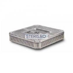 Cos sterilizare 1/2 inox (255 x 245 x 70) mm cu capac