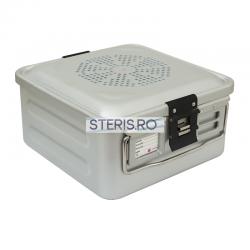 Container sterilizare Standard 1/2 (285 x 280 x 260 mm) cu capac neperforat Uzman