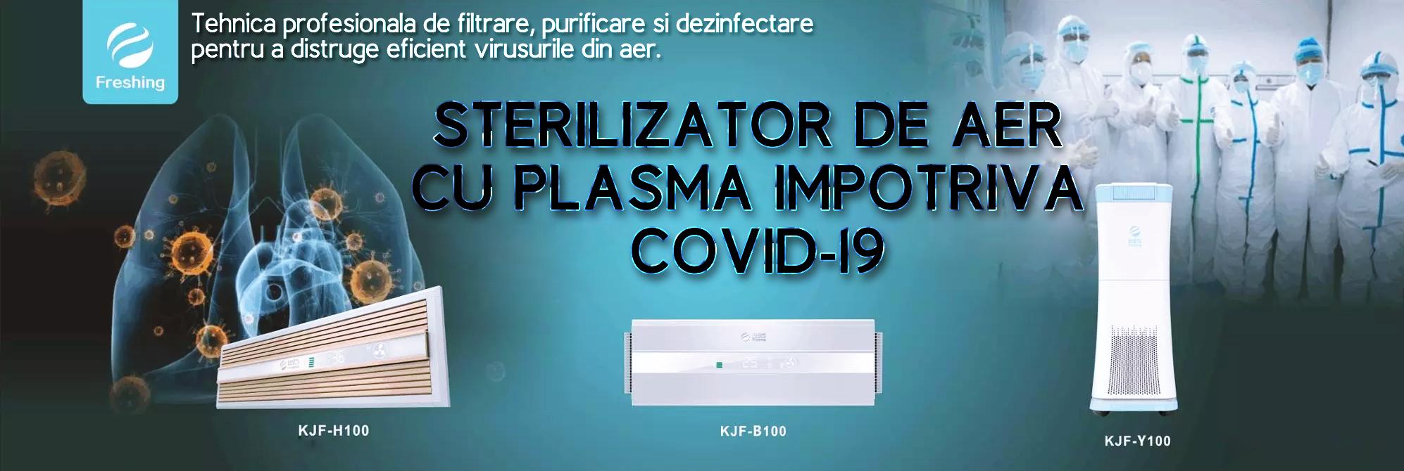 Sterilizator de aer cu plasma | Sterilizator COVID-19